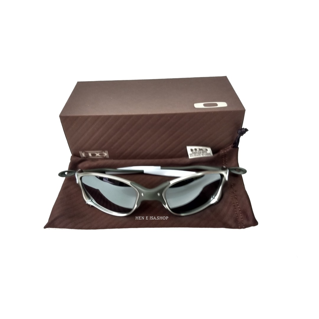888aaeb1cbb20 oculos oakley double xx tio 2 prata +teste+chaves+frete. Carregando zoom.