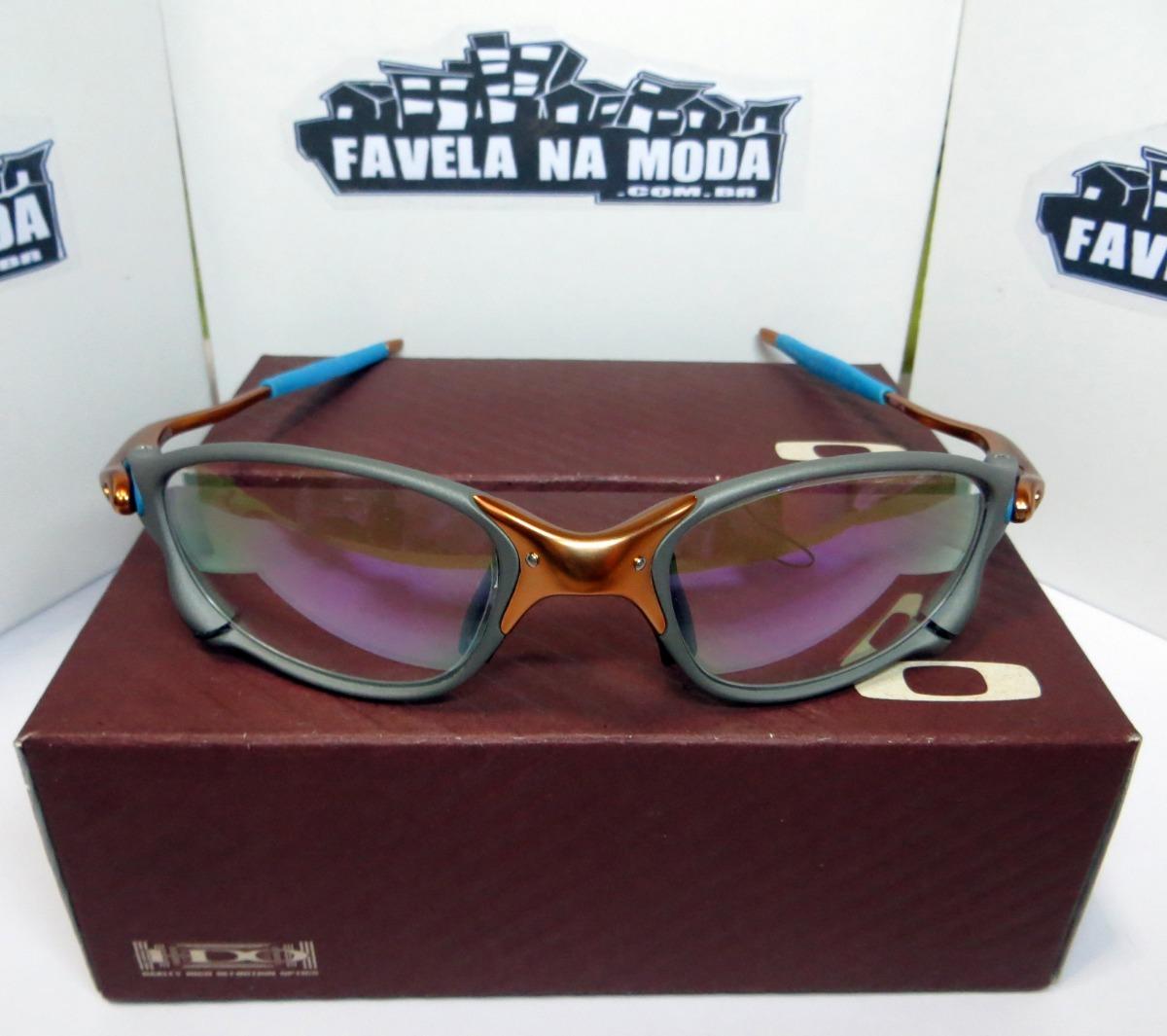 óculos oakley doublexx   24k   clear azul + par de lentes. Carregando zoom. 4440d9c073