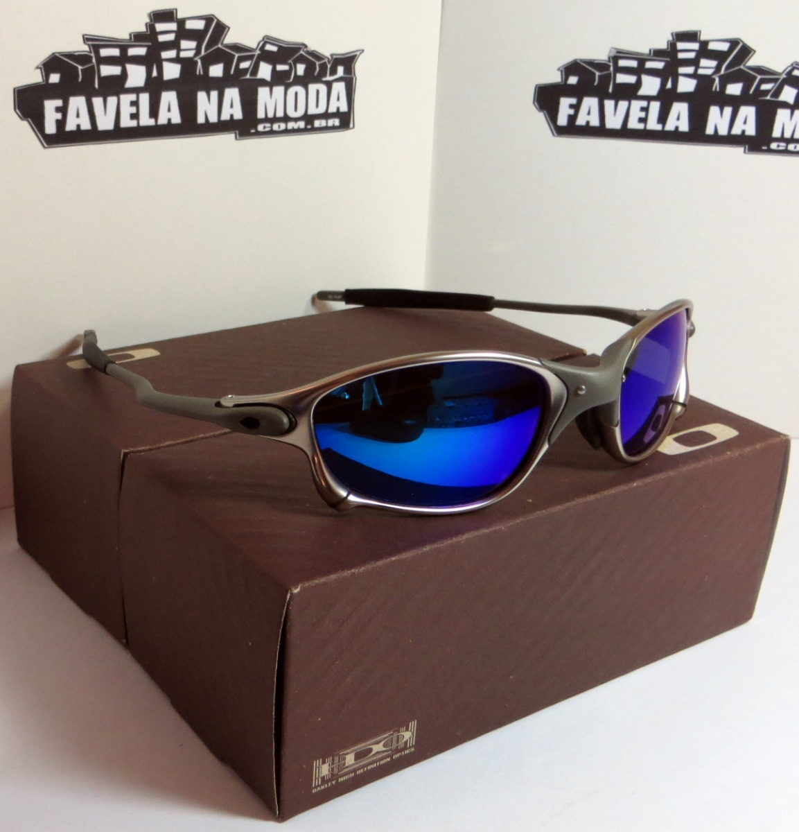 578ba4edbd406 Óculos Oakley Doublexx   Tio 2   Magic Blue + Par De Lentes - R  179 ...