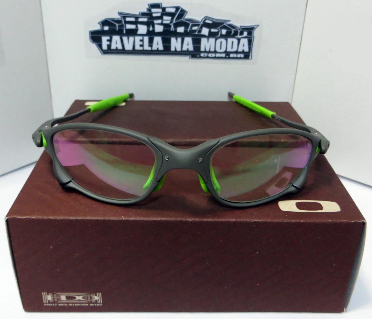 óculos oakley doublexx xmetal (clear verde) + par de lentes. Carregando  zoom. bc564a8925