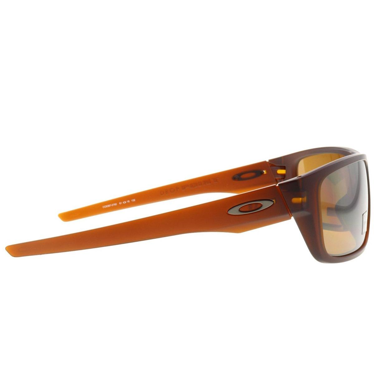 4bc591fea0814 óculos oakley drop point matte rootbeer  lente prizm tungste. Carregando  zoom.