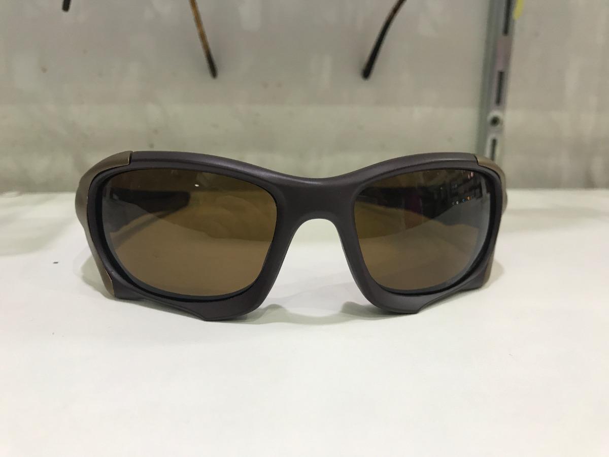 oculos oakley elite pit boss 2 xmetal 100% polarizado marrom. Carregando  zoom. aa788cf56d