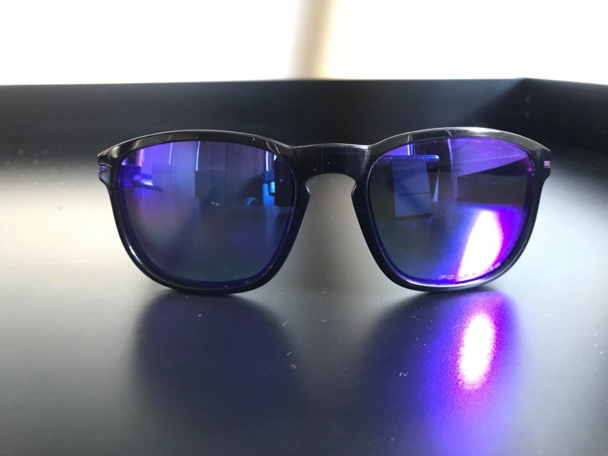 óculos oakley enduro preto lente violet iridium polarizada. Carregando zoom. fecdbb48a0