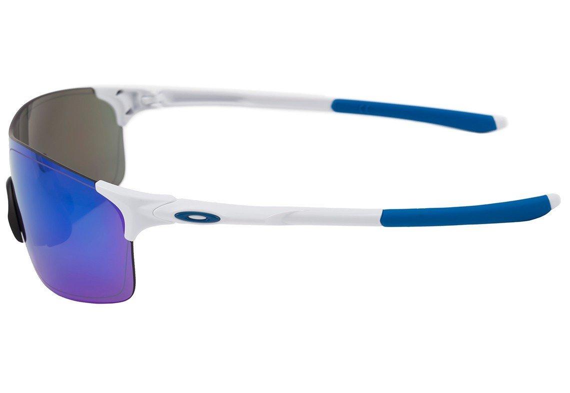 Óculos Oakley Evzero Pitch - Branco azul - R  272,40 em Mercado Livre fbeccdceea