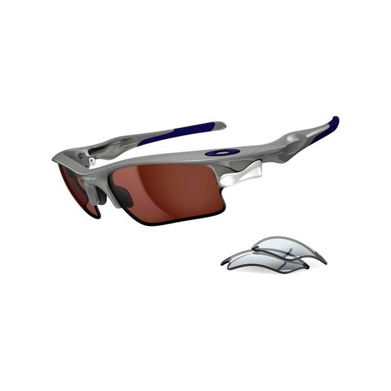 óculos oakley fast jacket xl polished fog vr28 black iridium. Carregando  zoom. f0e89b763d