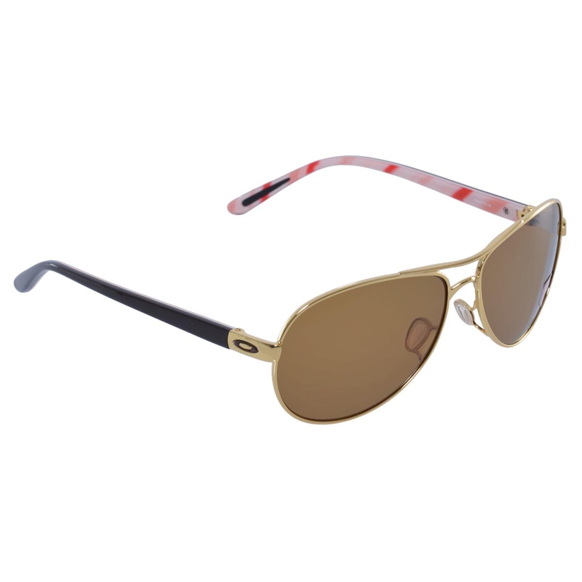 9dee9a836ae06 óculos oakley feedback polarized gold w bronze. Carregando zoom.