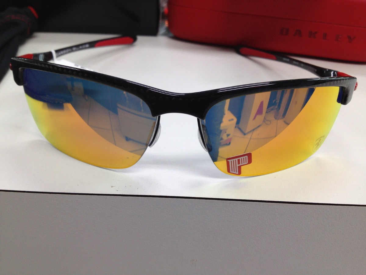 2e12a72f48 oculos oakley ferrari carbon blade polarizado 009174-06. Carregando zoom.
