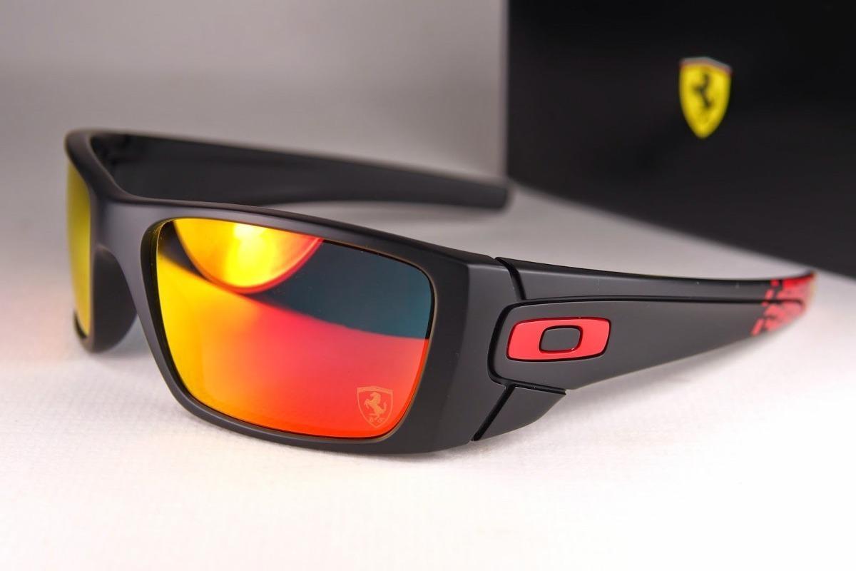 4b1ddc5d0bd06 óculos oakley ferrari fuel cell - iridium - preto e vermelho. Carregando  zoom.
