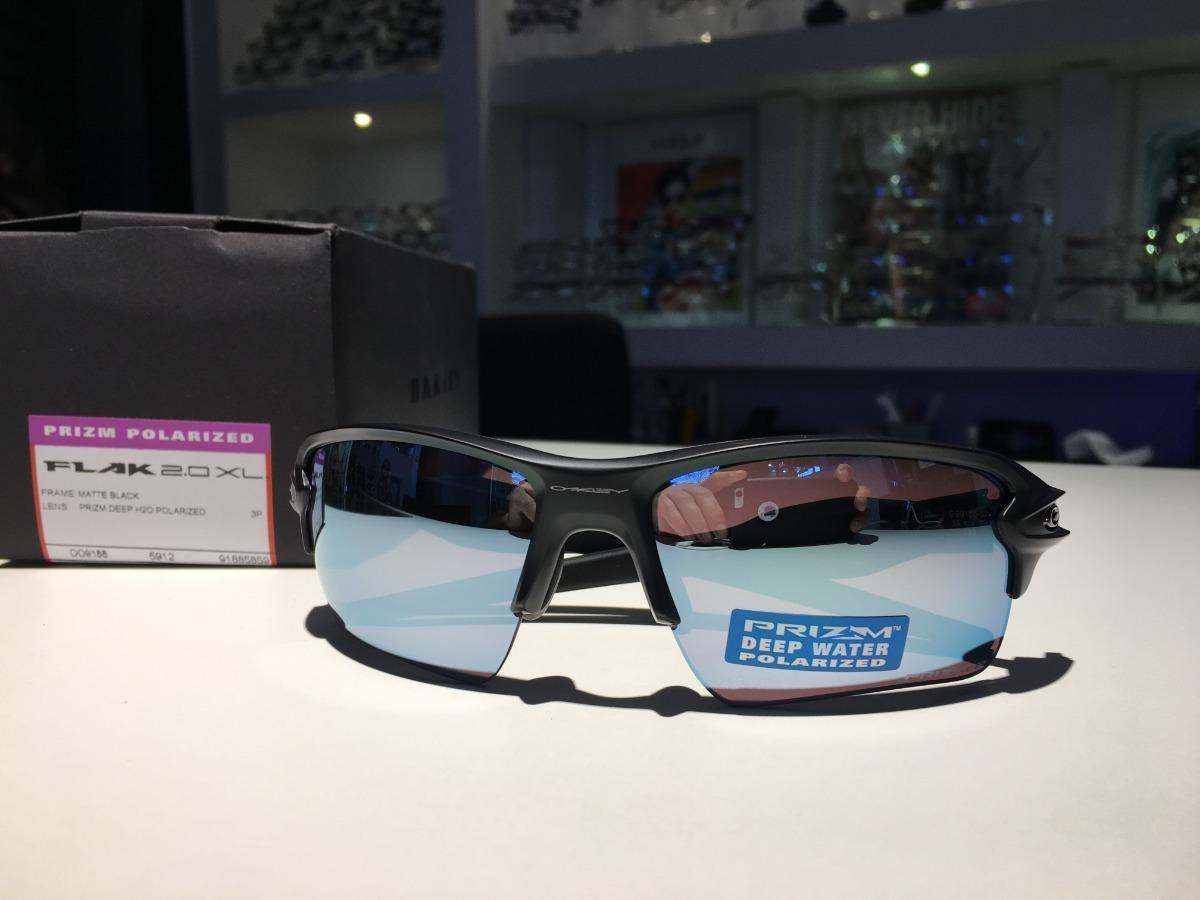 b968069b010d2 óculos oakley flak 2.0 xl prizm deep h2o polarizado. Carregando zoom.