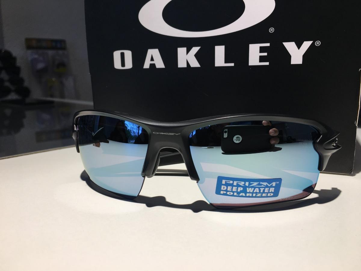 cfbba88420cf3 Óculos Oakley Flak 2.0 Xl Prizm Deep H2o Polarizado - R  689,00 em ...