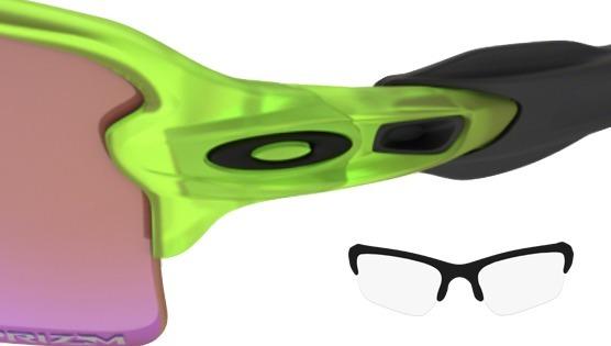 f7cbbf43f2512 Óculos Oakley Flak Jacket 2.0 Neon Uranium W Prizm Golf - R  569