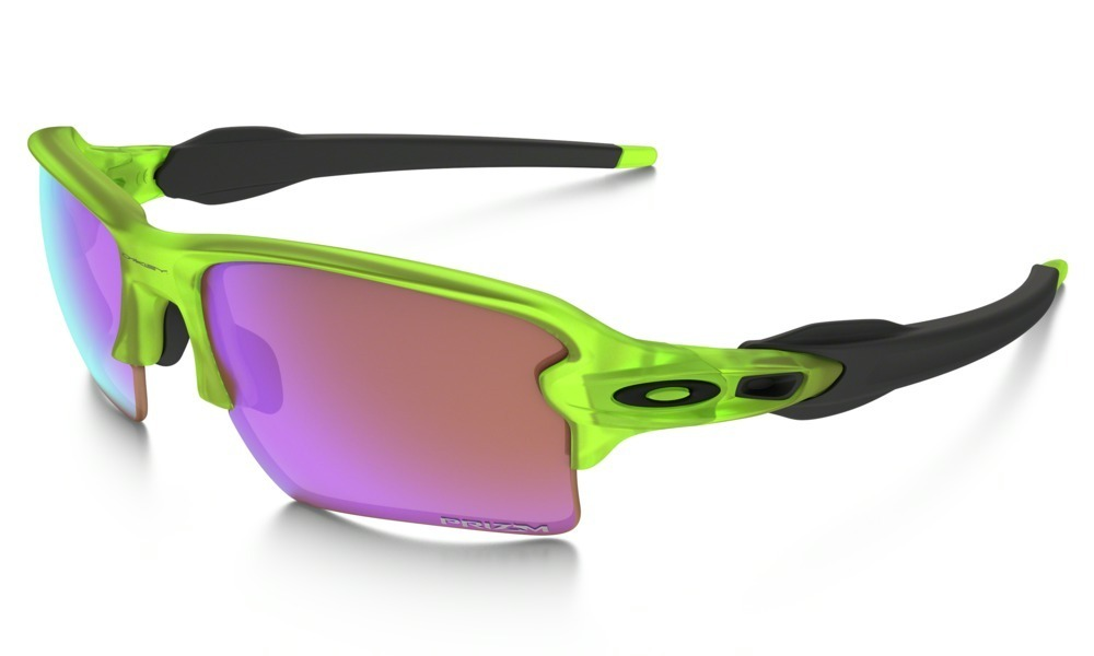 19c05788a5382 óculos oakley flak jacket 2.0 neon uranium w prizm golf. Carregando zoom.