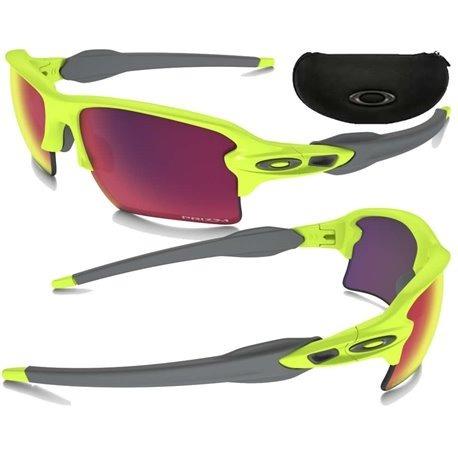edf816aff52a2 Óculos Oakley Flak Jacket 2.0 Neon Uranium W Prizm Golf - R  569 ...
