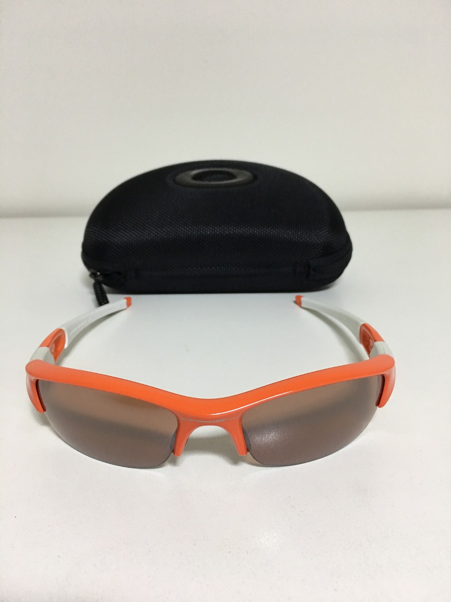 Óculos Oakley Flak Jacket Original - R  448,00 em Mercado Livre f55ea56187