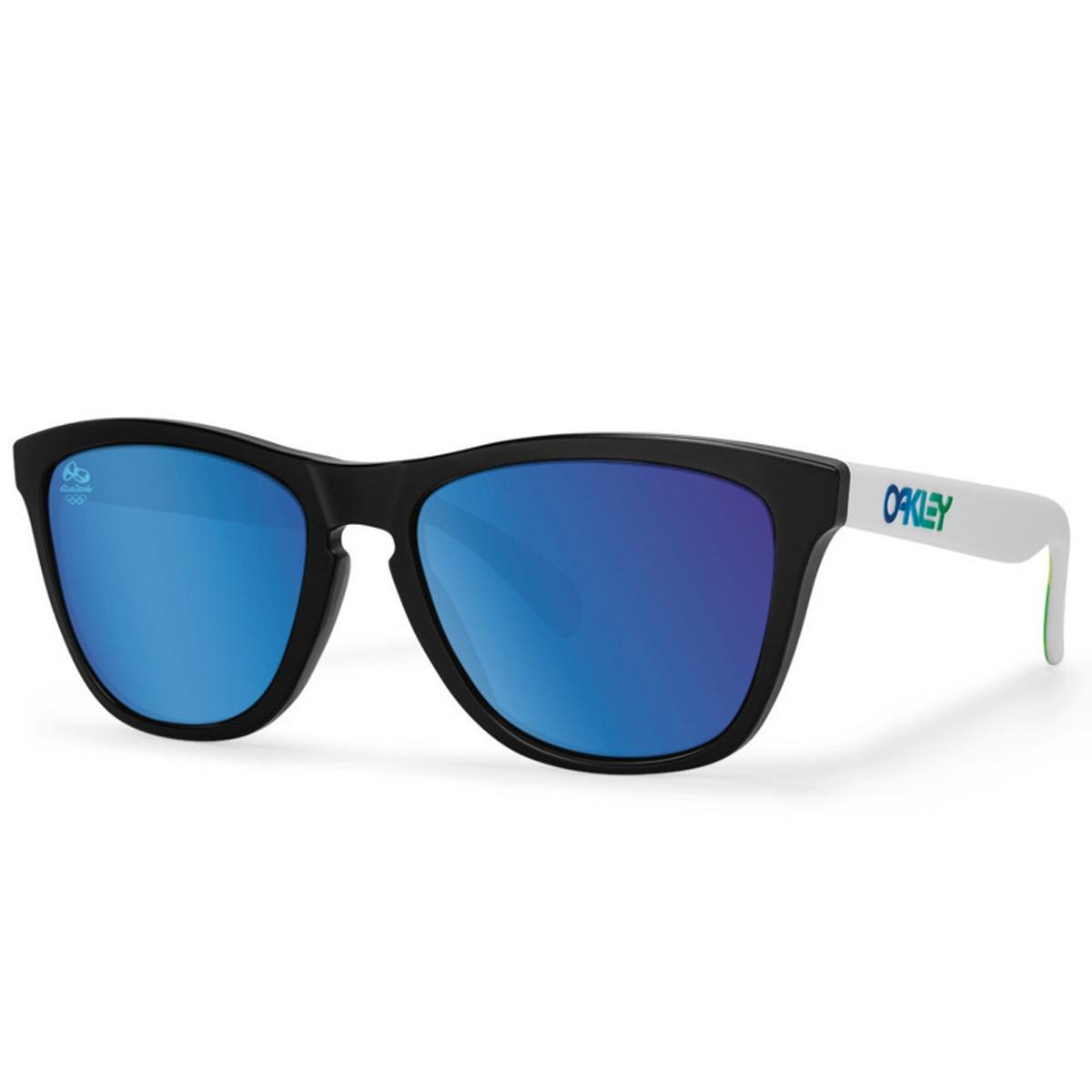 06cc4b2613a14 Óculos Oakley Frogskins - R  479,90 em Mercado Livre