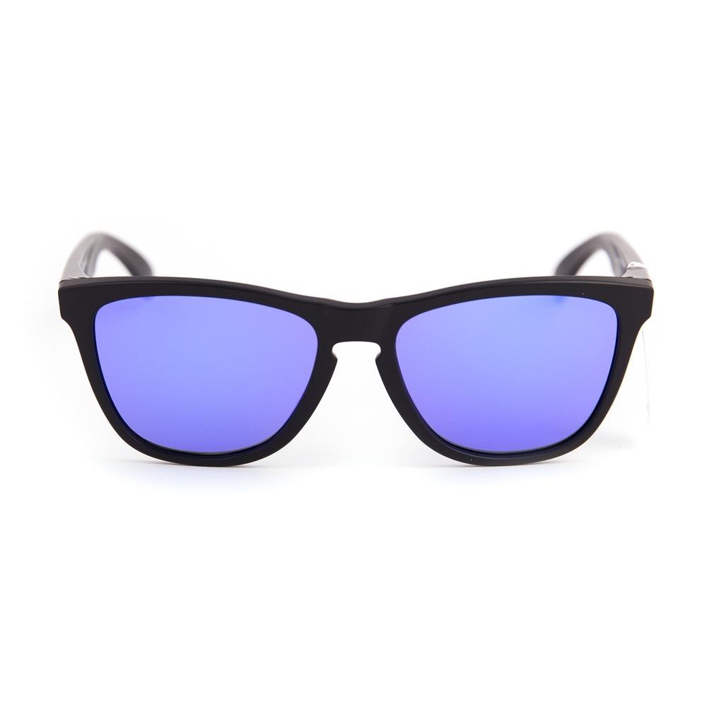 b94cfb5b3c0dd Oculos Oakley Frogskins Matte Black Violet Iridium Original - R  338 ...