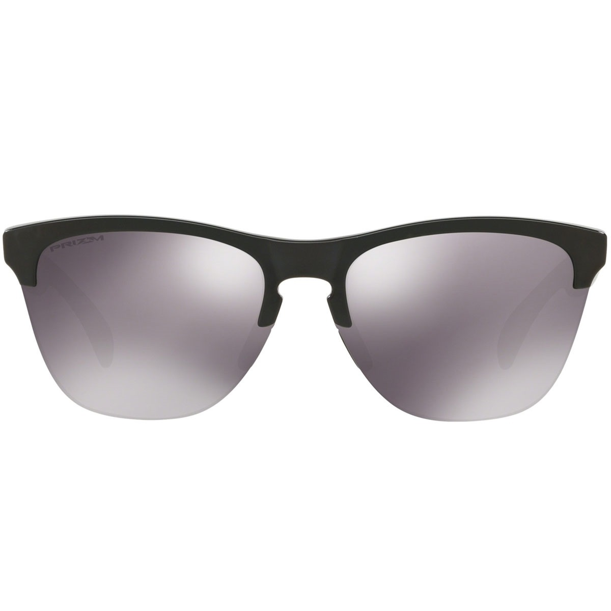Óculos Oakley Frogskins Lite Polished Black   Prizm Black - R  510 ... b29db2e499