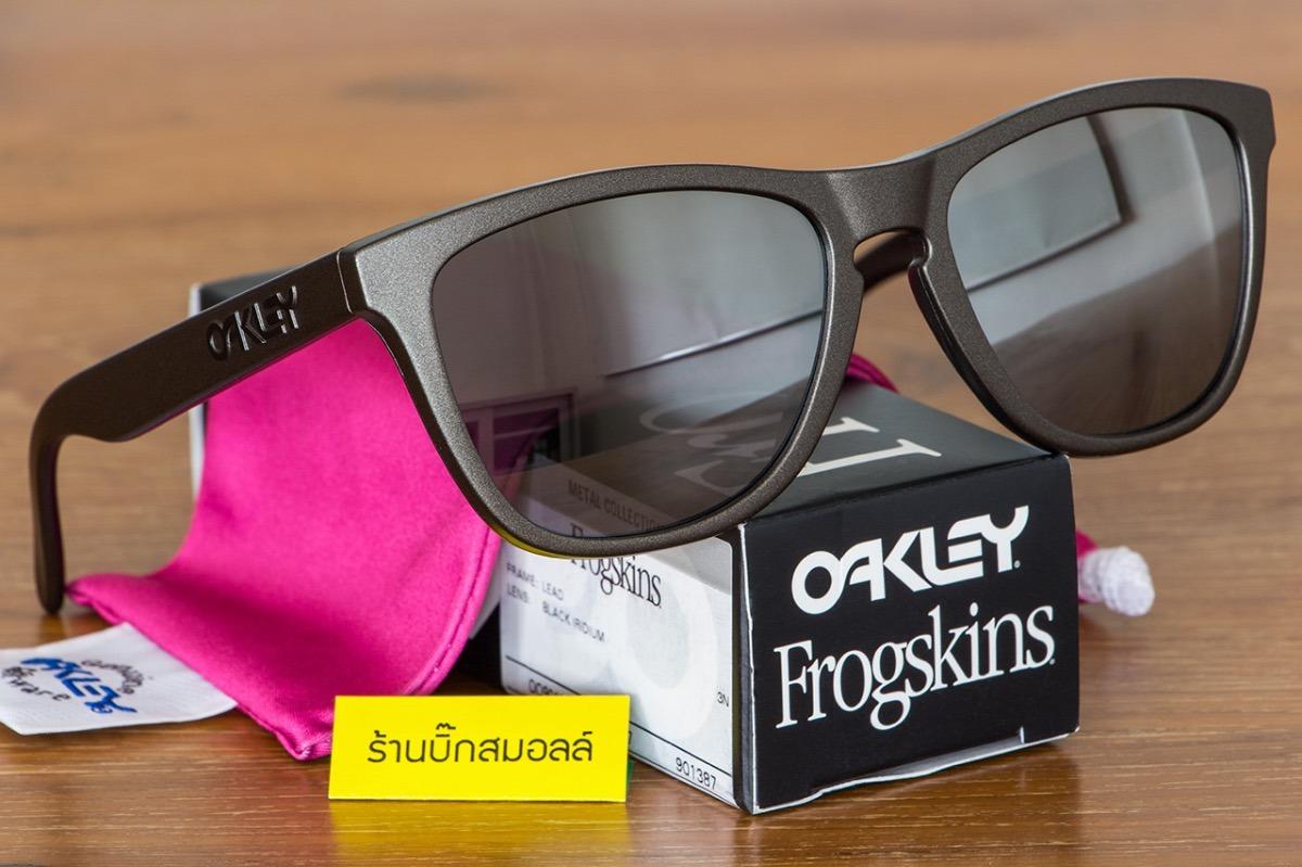 oculos oakley frogskins lead black metal collec frete gratis. Carregando  zoom. 21c2f4d341