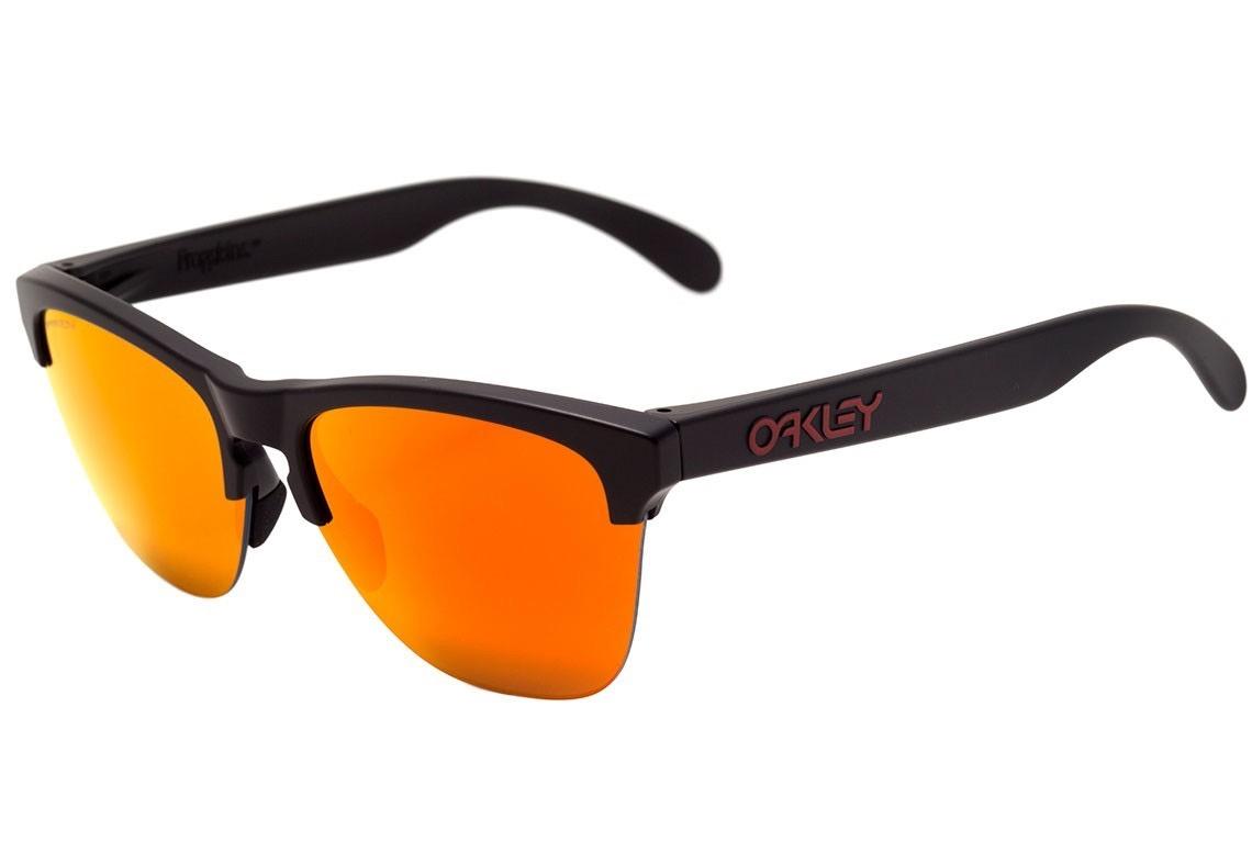288155435 oculos oakley frogskins lite matte black prizm ruby frete gr. Carregando  zoom.