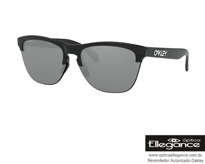 f29695a60 Óculos Oakley Frogskins Lite Oo9374-1063 - Prizm Iridium - R  449