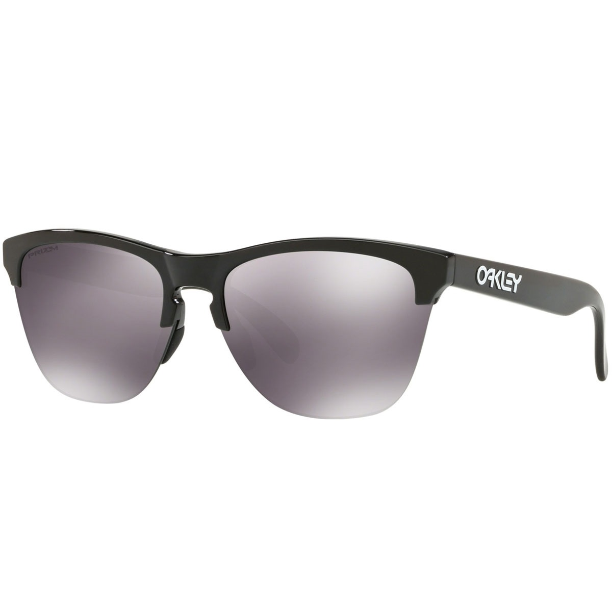 óculos oakley frogskins lite polished black   prizm black. Carregando zoom. a6e52b250a