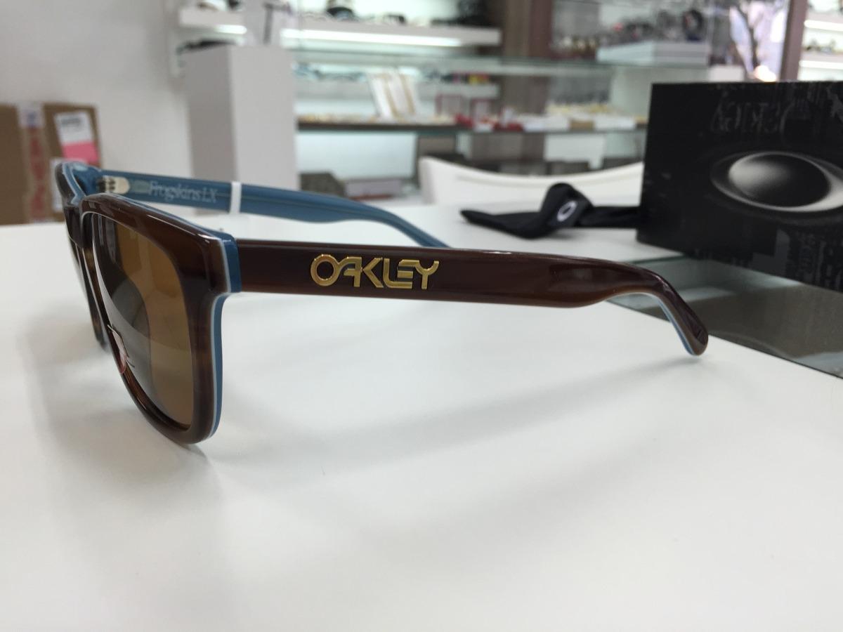 a39017016 oculos oakley frogskins lx tot/blue polarizado oo2043-03 ori. Carregando  zoom.