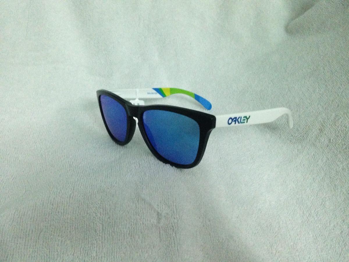 Óculos Oakley Frogskins Rio2016 Brazil Olympics - R  369,00 em ... c29ac98ec6