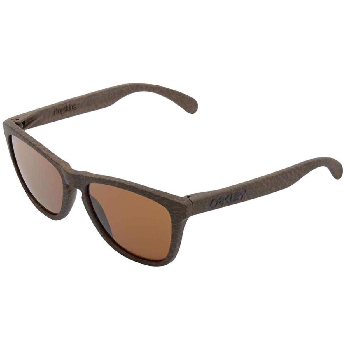 369e88d8f5d60 Óculos Oakley Frogskins Tobacco  Lente Dark Bronze - R  519,90 em ...