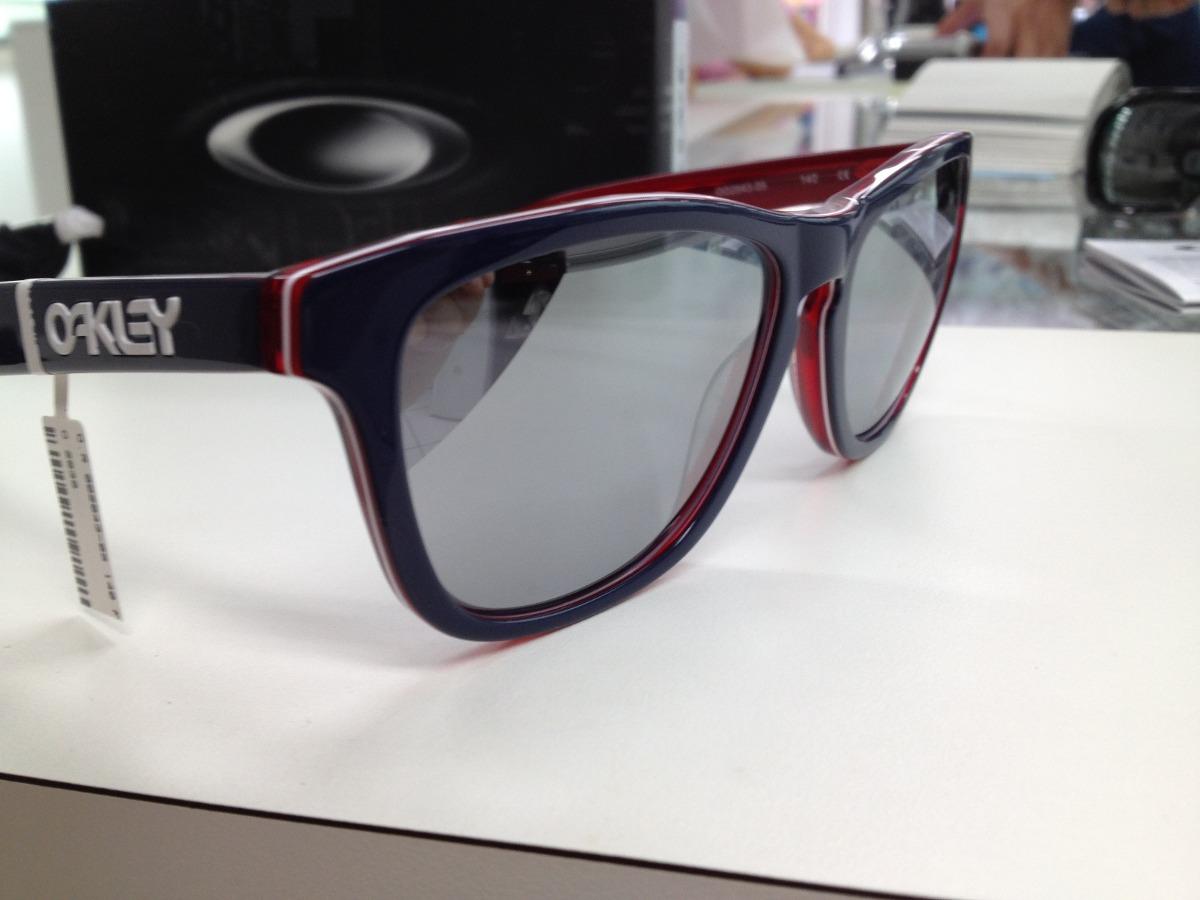 óculos oakley frogskins lx azul