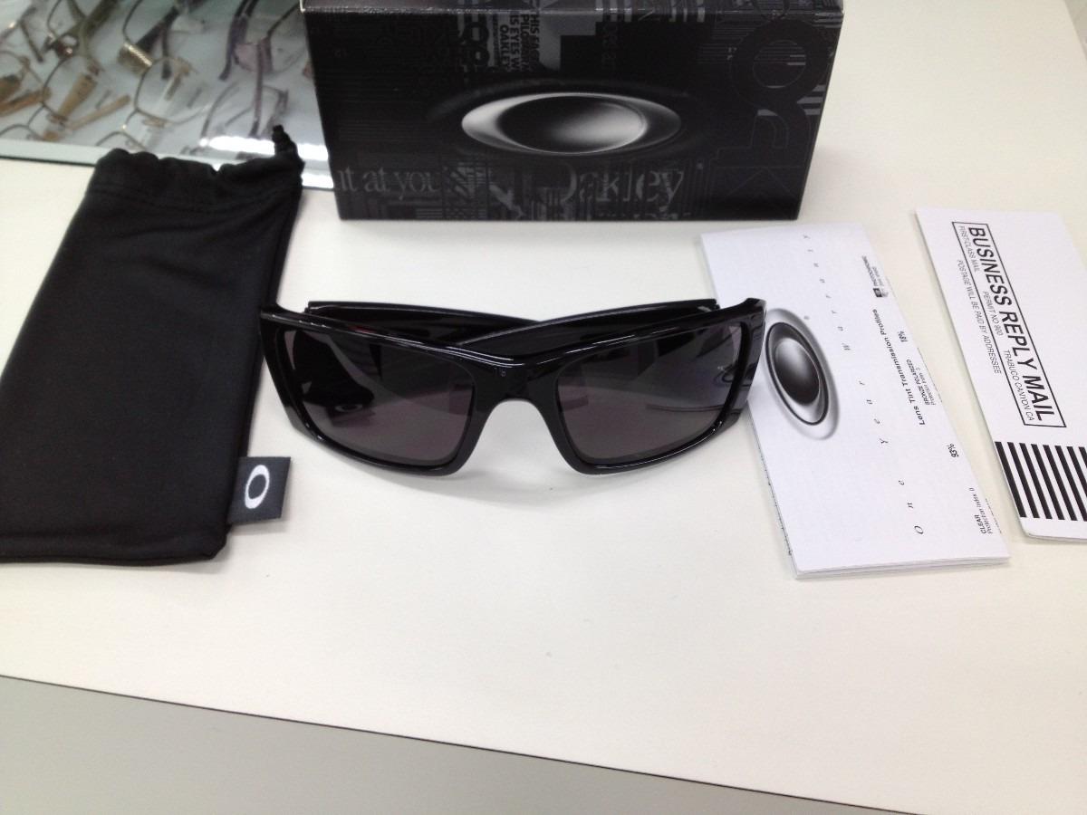 63b3627f8837a Oculos Oakley Fuel Cell Polished Black Original - R  419,00 em ...