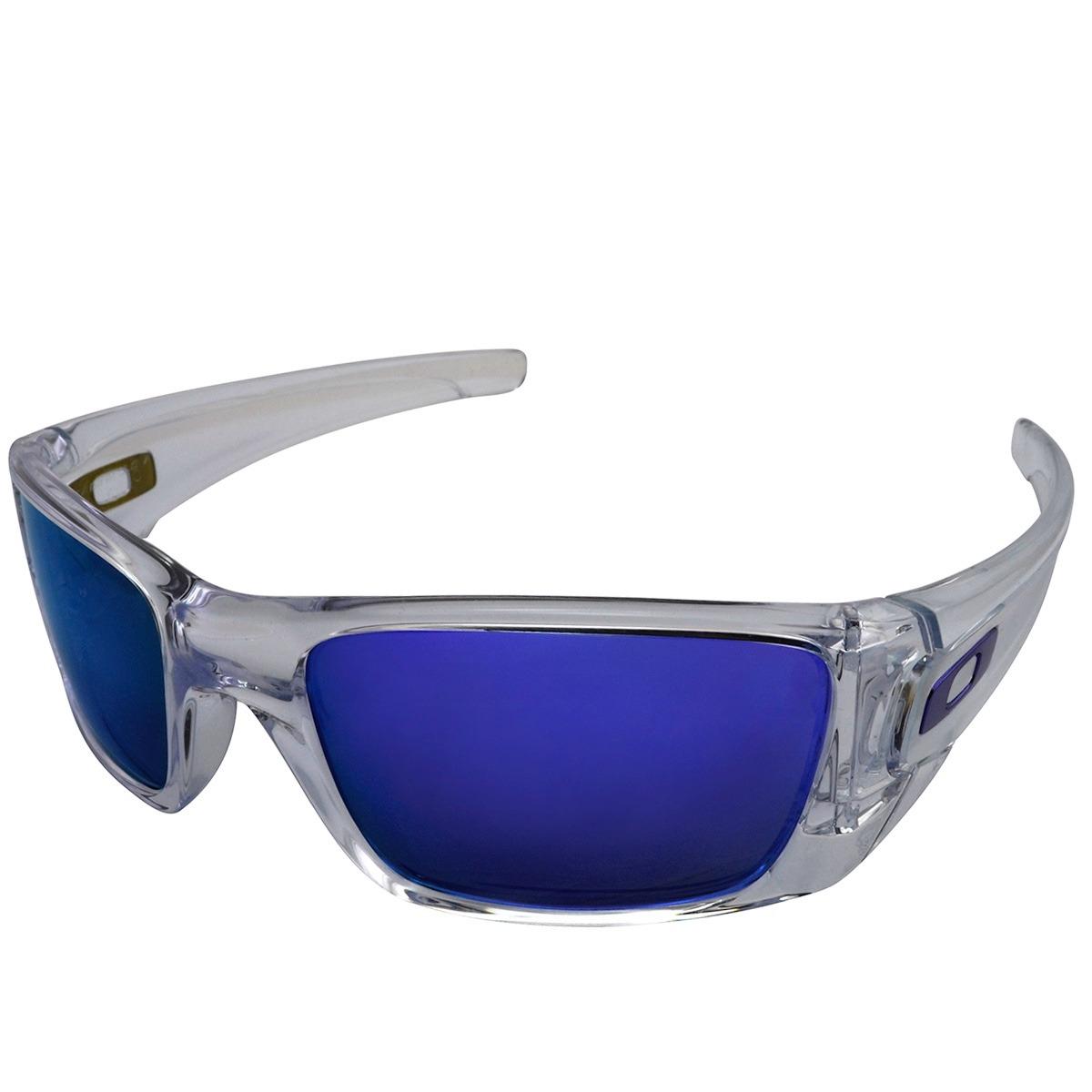 0ed57979d1122 oculos oakley fuel cell polished clear violet iridium oferta. Carregando  zoom.