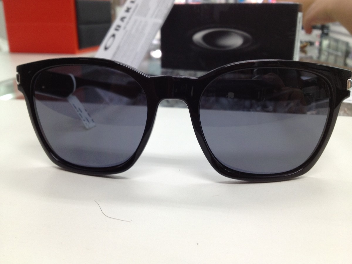 fc19ce0f65296 oculos oakley garage rock 009175-01 55 preto brilho original. Carregando  zoom.