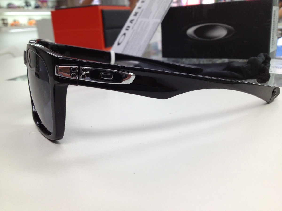 2189a56d95773 Oculos Oakley Garage Rock 009175-01 55 Preto Brilho Original - R ...