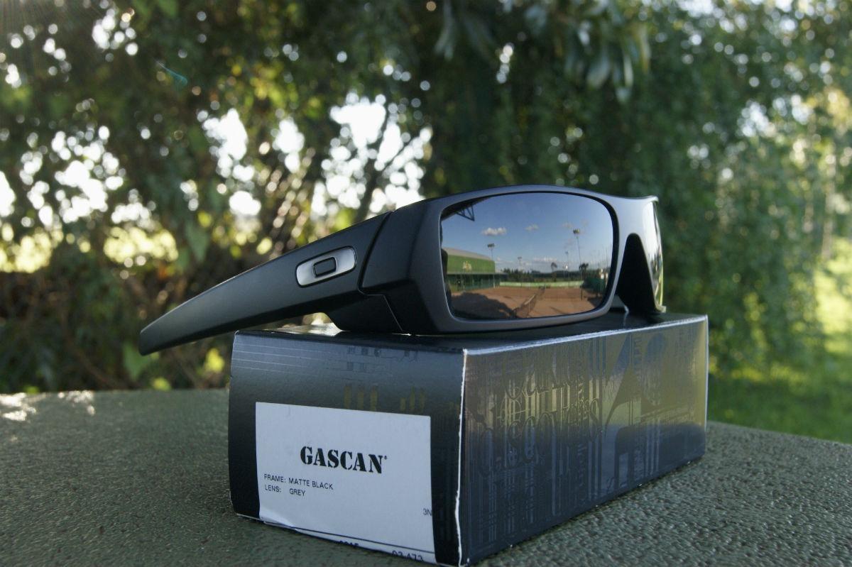 oculos oakley gascan 03-473 matte black preto fosco original. Carregando  zoom. 92eeb310ce