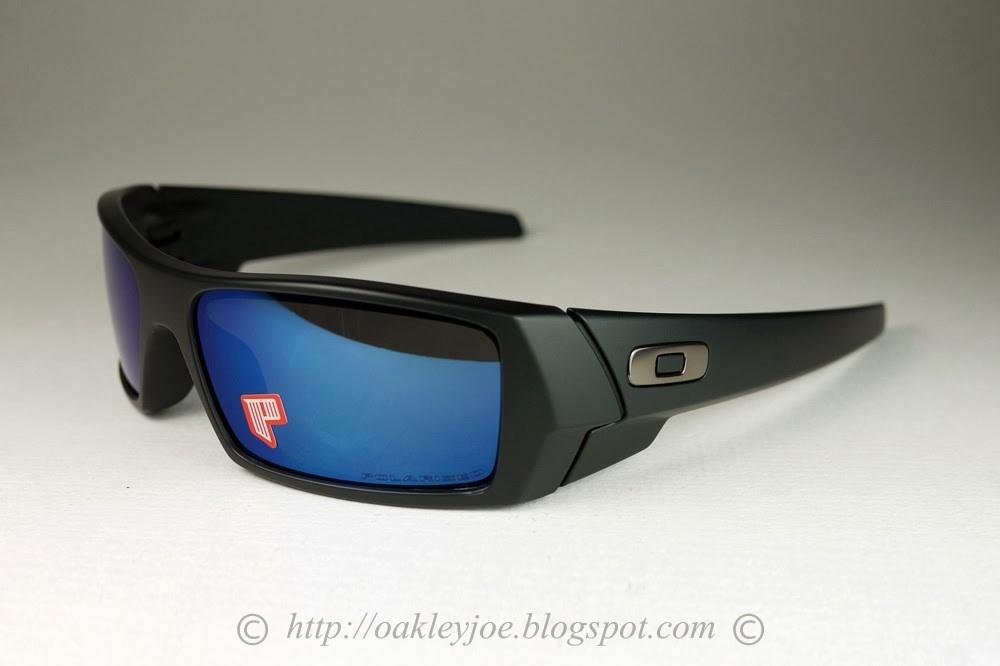oculos oakley gascan 26-244 polarizado preto fosco ice iridi. Carregando  zoom. a3696c1379