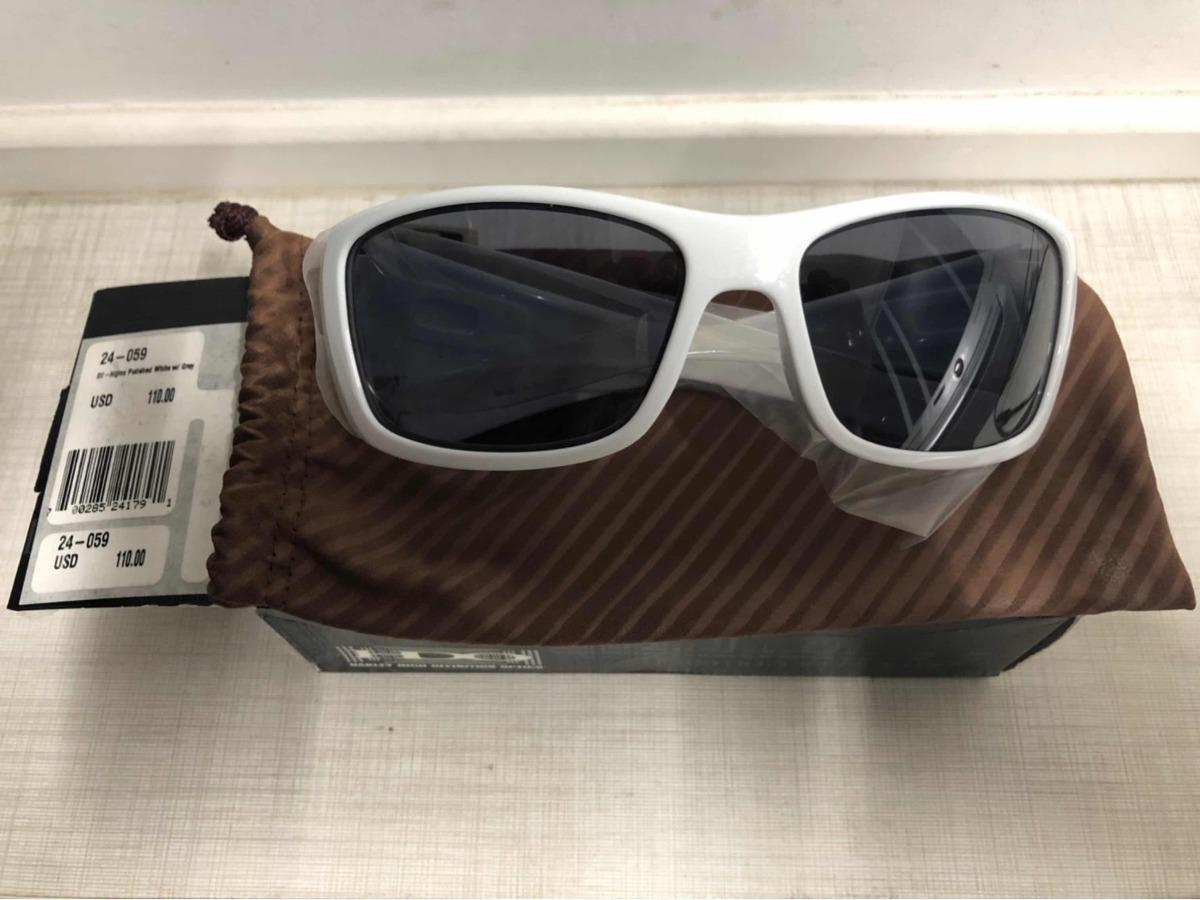bce5a53c5029f óculos oakley hijinx novo na cx branco original. Carregando zoom.