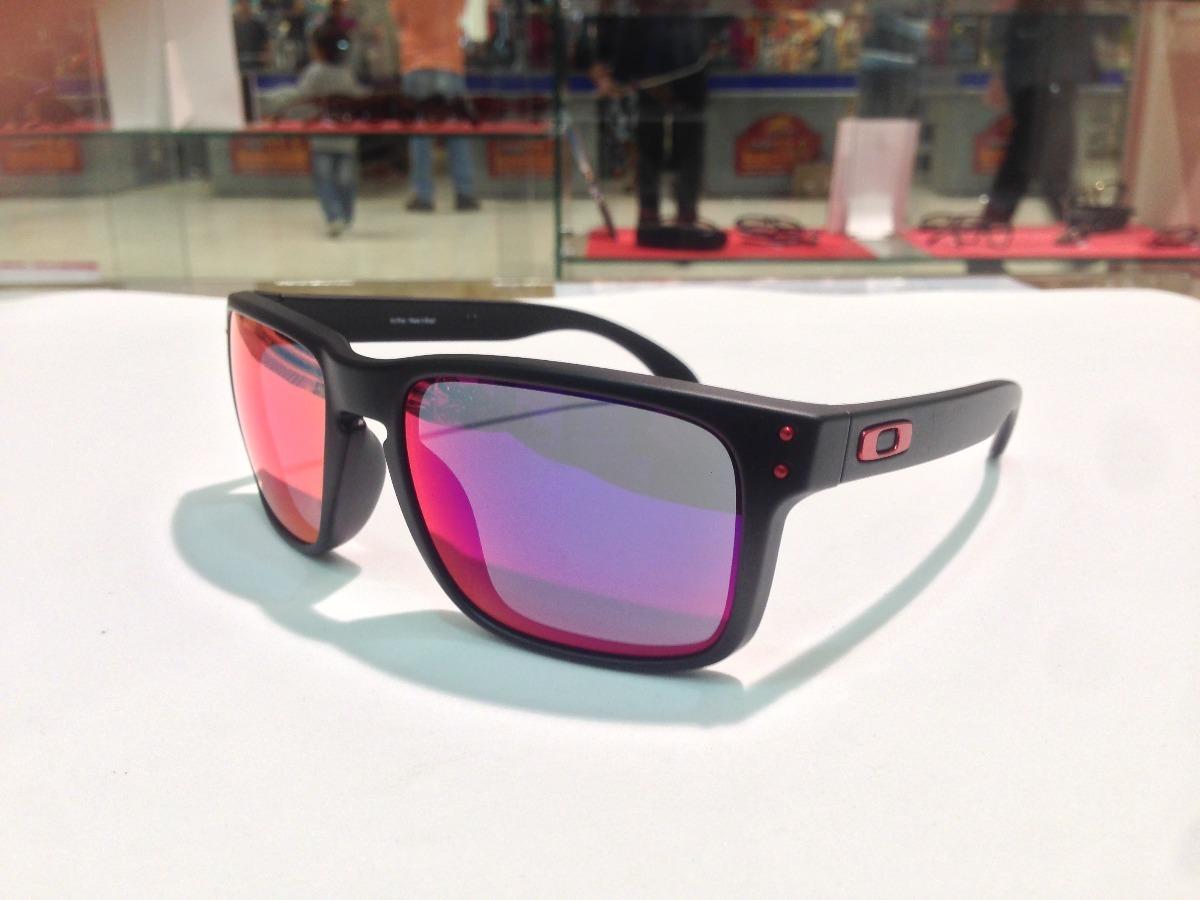 2c1b3c4184 oculos oakley holbrook 009102l-36 matte black l .red iridium. Carregando  zoom.