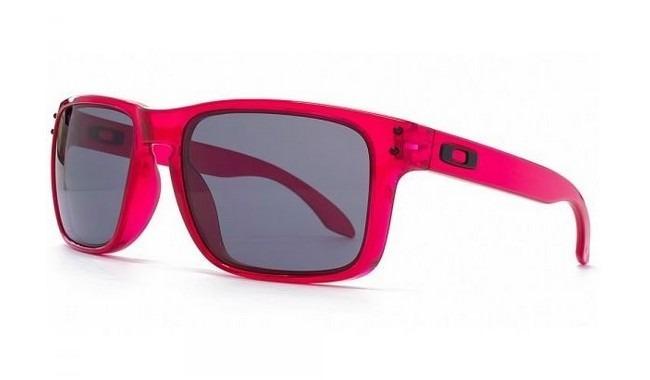 Óculos Oakley Holbrook Crystal Pink - R  359,90 em Mercado Livre 6bb0010cec