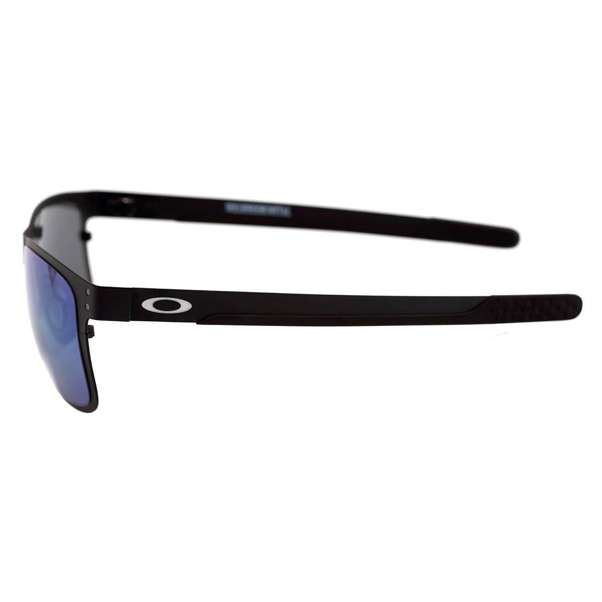 b613ef47365bf Óculos Oakley Holbrook Metal Matte Black  Lente Jade Iridium - R ...