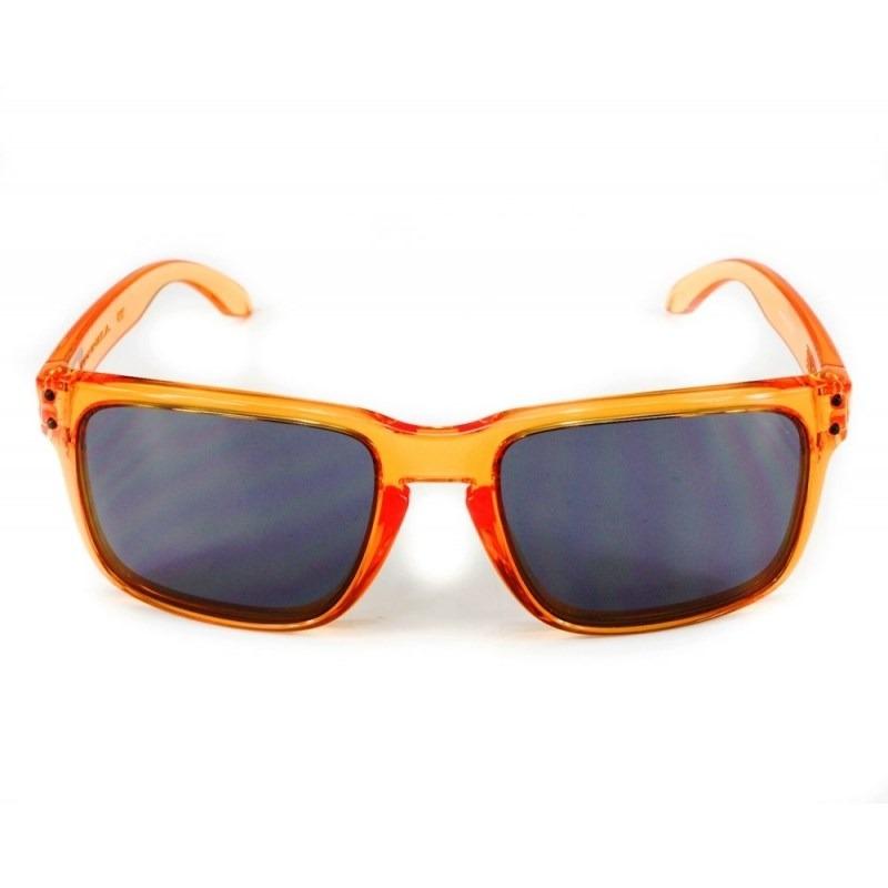8d4b51aa2cad5 Óculos Oakley Holbrook Crystal Orange Grey 9102-31 - R  440