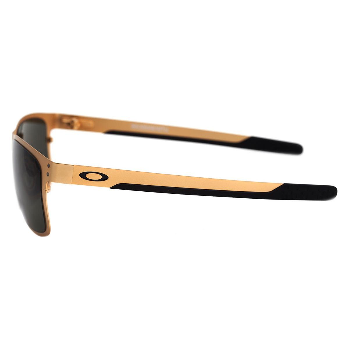4d04faff03152 Carregando zoom... oakley holbrook óculos. Carregando zoom... óculos oakley  holbrook metal satin gold  lente dark grey