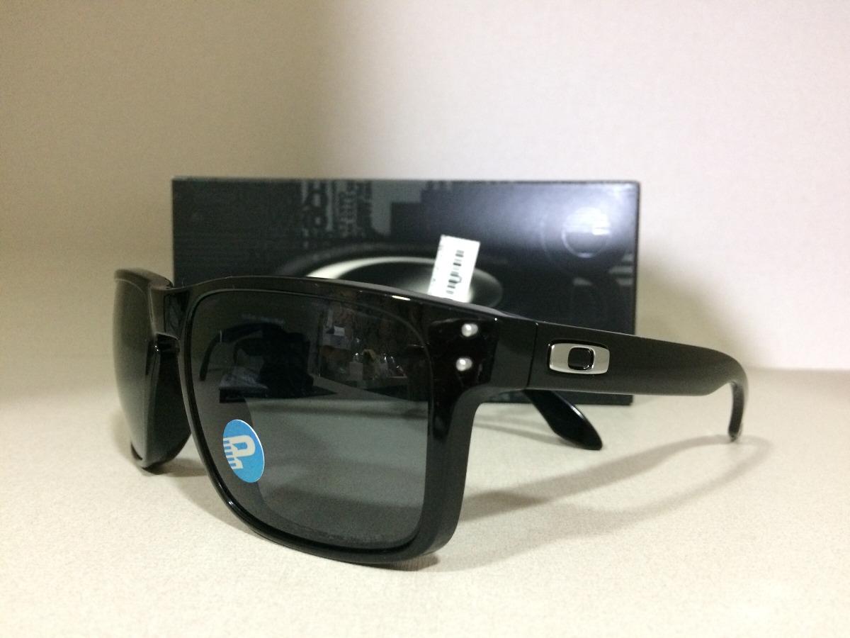 Oculos Solar Oakley Polarizado Holbrook 009102l-02 55 18 137 - R ... f68b26b66f