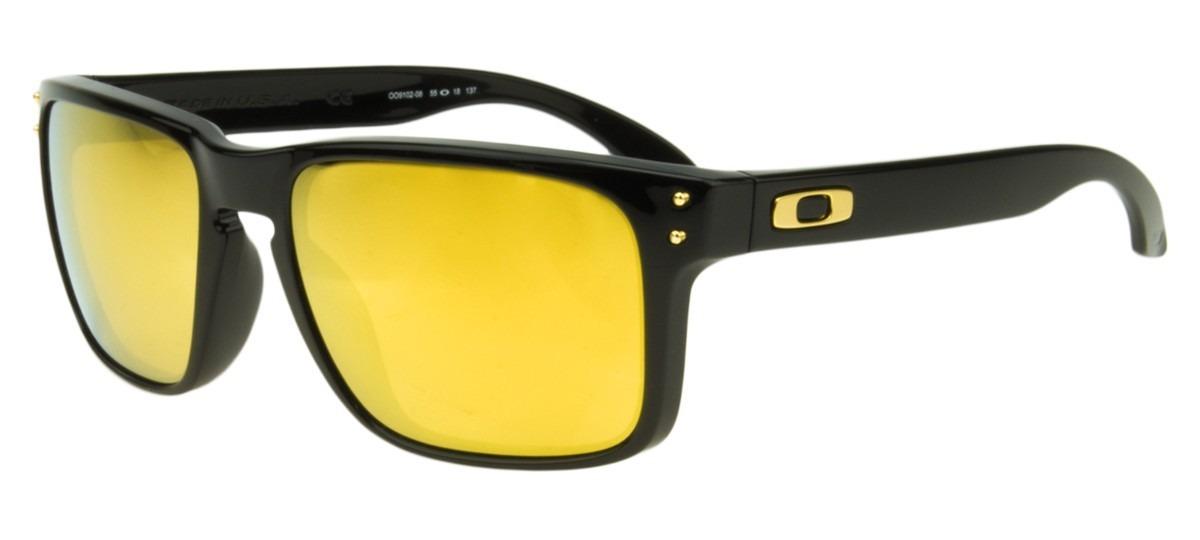 2754602f26 oakley holbrook shaun white - preto e amarelo espelhado