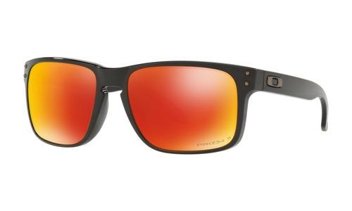 d6aebb880e3e5 óculos oakley holbrook polished black prizm ruby polarized. Carregando  zoom... óculos oakley holbrook