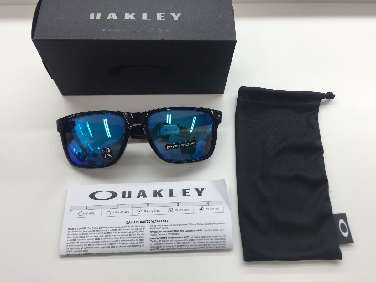 45ccded72c498 Oculos Oakley Xl Holbrook Oo9417- 03 59 Prizm Shapphire - R  459