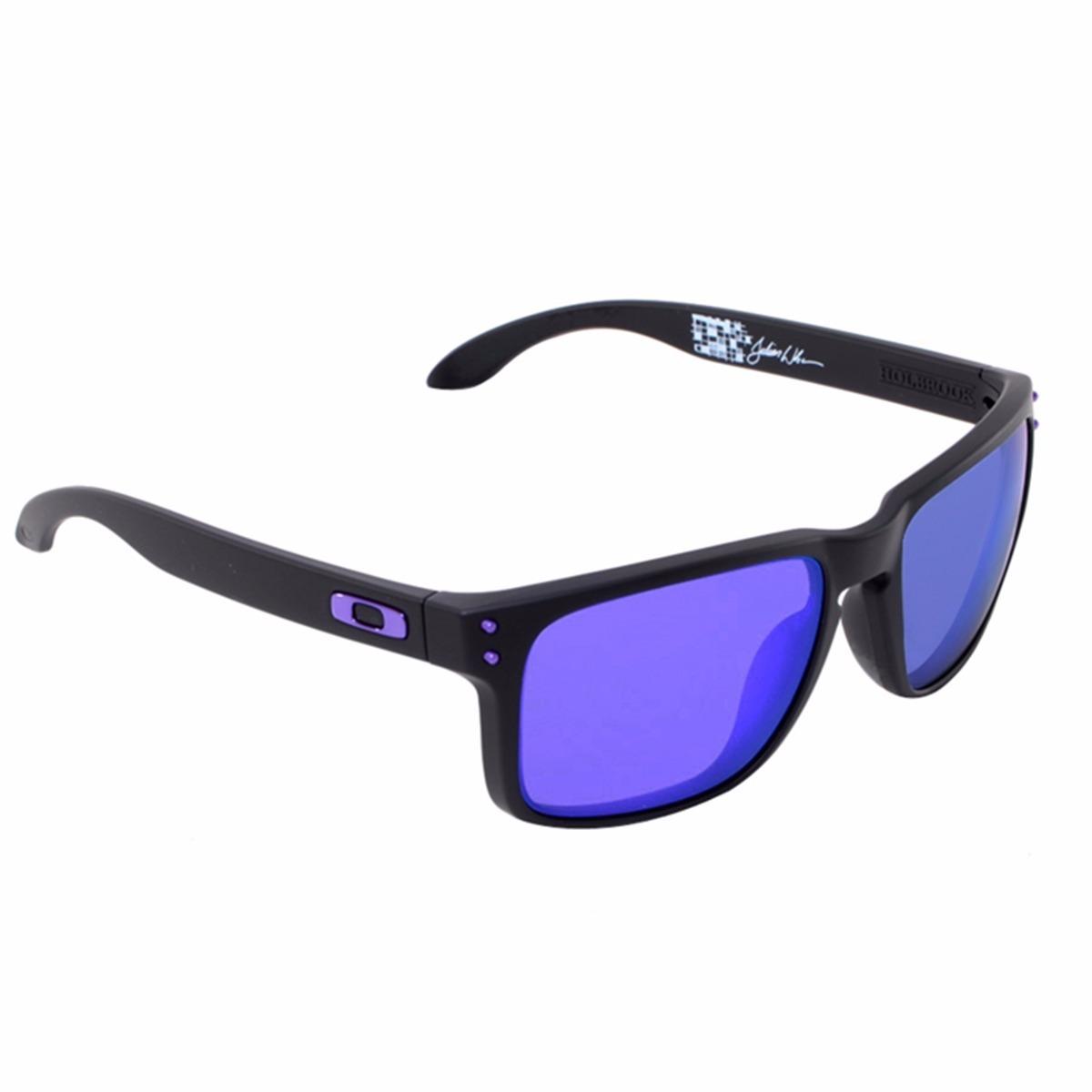 ddddf4e74956a Óculos Solar Oakley - Holbrook Julian Wilson - Original - R  490,00 em  Mercado Livre