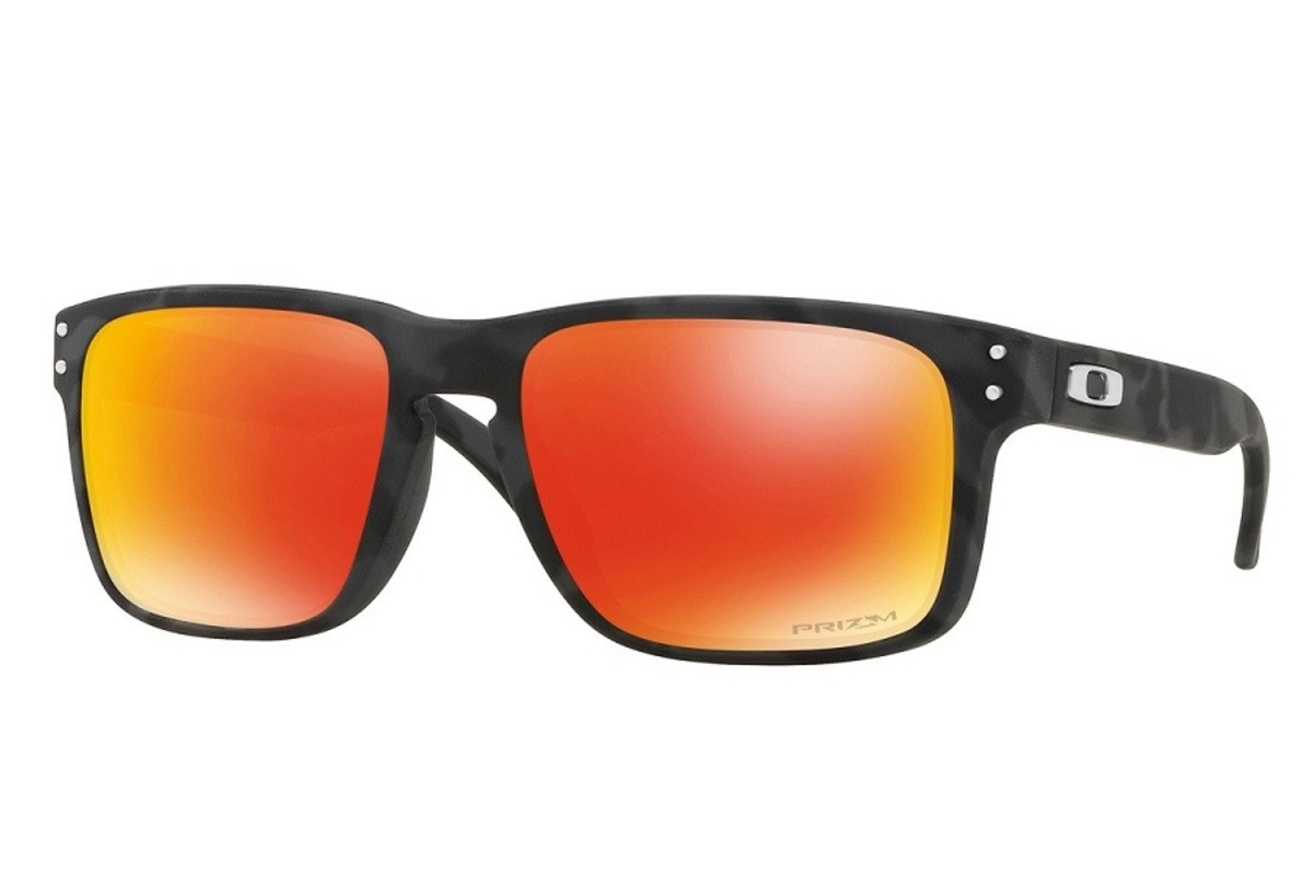 b17cda97308d5 Óculos Oakley Holbrook Black Camo  Lente Prizm Ruby - R  399,00 em ...