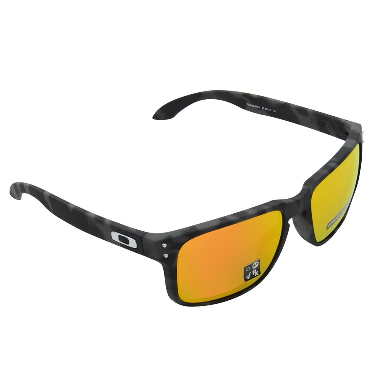 88137b1a2 Óculos Oakley Holbrook Camo Cinza Rubi - R$ 530,00 em Mercado Livre