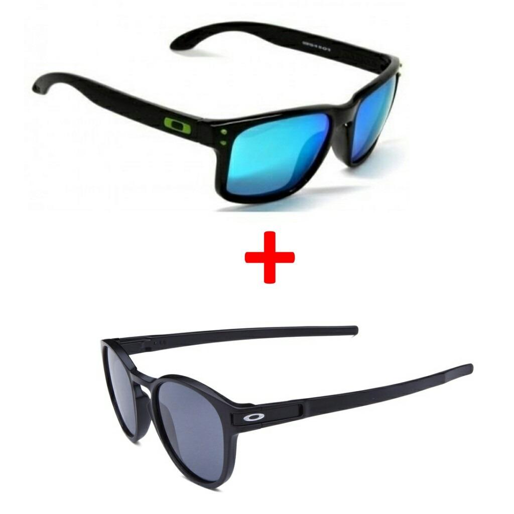 Oculos Oakley Holbrook E Latch Polarizado - R  160,00 em Mercado Livre db7101d7d4