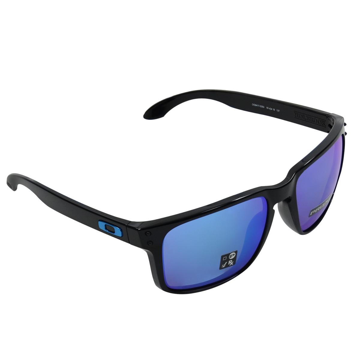 86c2a4b6c20df óculos oakley holbrook iridium safira. Carregando zoom.